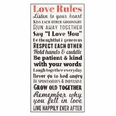 Love Rules Wall Plaque | Kirkland's