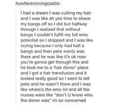 Wow what an emo dream ,,