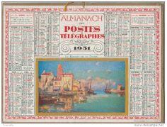 calendrier 1931