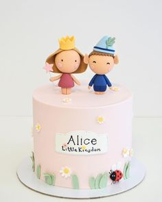 Ben N Holly, Ben And Holly Cake, 3d Cakes, Fondant, Cool Kids, Birthday Cake, Yummy Food, Sweets, Candy