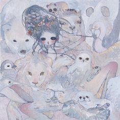 Pretty Art, Cute Art, Aya Takano, Room Deco, Dibujos Cute, Guache, Funky Art, Art Plastique, Japanese Art