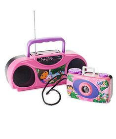 Dora the Explorer  Camera  Radio Kit  Nickelodeon *** Check out the image by visiting the link.Note:It is affiliate link to Amazon.