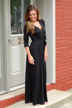 Beautiful Soul Maxi Dress - Black--save 10% using REPCHRISTY at checkout