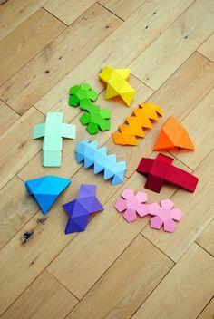 I ♥ mathematics {platonic solids garland} | Mini-eco