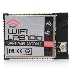Waveshare WIFI-LPB100 UART to Wi-Fi Wireless Communication Module - Black. Great performance, low power consumption; Supports UART/SPI/GPIO port; Supports smart link; Supports wireless and remote firmware upgrade; Supports WPS, 5-CH TCP client; Supports soft switch control power; Certification: FCC, CE; Wireless standard: 802.11 b/g/n; Frequency: 2.412~2.484GHz; Transmitting power: 802.11b: 16+/-2dBm (@11Mbps), 802.11g: +14 +/-2dBm (@54Mbps), 802.11n: +13 +/-2dBm (@HT20, MCS7); Receiving…