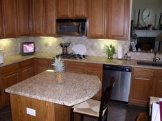 Backsplash Ideas For Giallo Ornamental | Giallo Ornamental Granite Countertops (86), Giallo Ornamental, Dallas ...