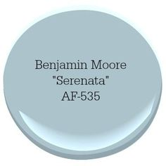 Benjamin Moore Serenata Coastal Paint Color A coastal-inspired color palette can turn your home into a relaxing escape. Our top picks for choosing the best coastal blue paint colors for your home. Coastal Paint Colors, Bedroom Paint Colors, Interior Paint Colors, Paint Colors For Home, House Colors, Paint Colours, Blue Paint For Bedroom, Bathroom Colors, Paint Color Schemes
