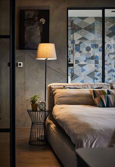 Amenajare masculină și pereți de sticlă într-un loft din Taiwan Jurnal de design interior