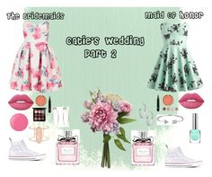 """""""Catie's Wedding - Part 2"""" by crazycaty11 ❤ liked on Polyvore featuring Topshop, Converse, Lime Crime, Milani, Terre Mère, MAC Cosmetics, Christian Dior, Essie, Kendra Scott and Bling Jewelry"""