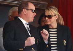 El Príncipe Alberto de Mónaco y Charlene Wittstock, complicidad en el Masters de…
