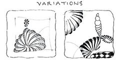 Pepper Variations by Maria Thomas, Zentangle Founder