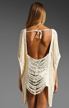 Shagadelic Backless Kaftan