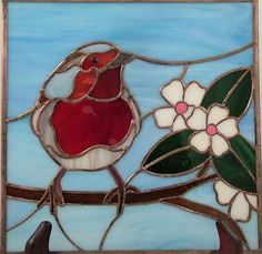 Art: Robin Redbreast #2 by Artist Linda J. McGarvey