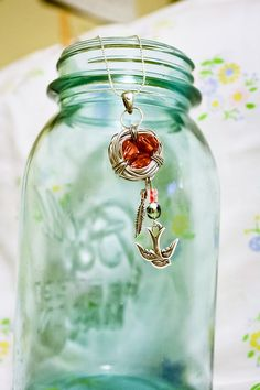 Hey, I found this really awesome Etsy listing at https://www.etsy.com/listing/164260153/birds-nest-necklace-with-rose-swarovski