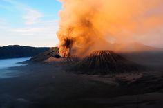 Sunrise, Bromo vulcano, Indonesia by Eliansito.deviantart.com on @deviantART