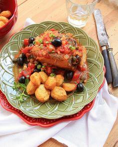 Pratos e Travessas: Bacalhau à italiana | Food, photography and stories
