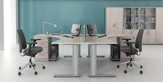 Meble pracownicze VIK I #elzap #meblebiurowe #meble #furniture #poland #warsaw #krakow #katowice #office #design #officedesign #officefurniture #desks #chairs #officelife  www.elzap.eu www.krzesla.krakow.pl www.meble-metalowe.com