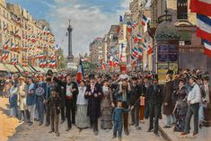 The Marseillaise - Jean Béraud