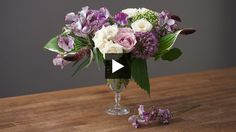 Learn how to make two garden-inspired bouquets with easy-to-find flowers.