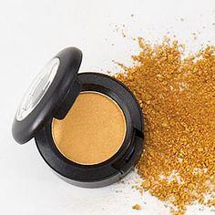 The Best Metallic Makeup   Gold Eyeshadow   CoastalLiving.com
