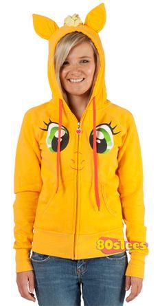 Applejack Hoodie. Favorite My Little Pony - NEEEEEEEEEEEEEED