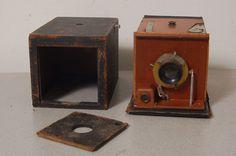 Vintage Early 1899 Kodak No 2 Bulls Eye Special Box Camera Antique 596