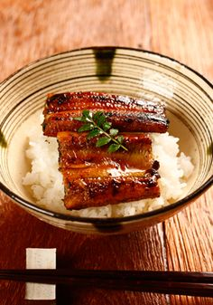 grilled eel on rice