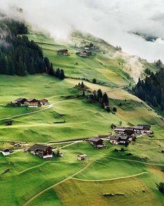 Tyrolsko, Rakousko,Austria