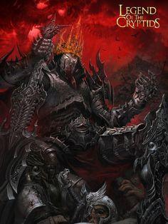 Artist: Jung Myung Lee aka rupid79 - Title: king 2 - Card: Bloodsmeared Berserker Mayl (Hexed)
