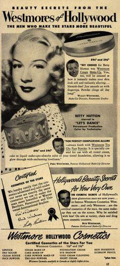 Historia del Maquillaje 1950