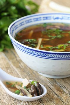 Whether you are celebrating Chinese New Year, or simply making an every day meal, this Slow Cooker Hot and Sour Soup is an easy and delicious dinner. http://www.thestayathomechef.com/2016/02/slow-cooker-chinese-hot-and-sour-soup.html