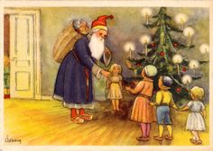 sells an item at a starting price of until Saturday, 14 January 2017 at CET in the Santa Claus category on Delcampe Sale On, Sweden, Santa, Photo And Video, Mini, Artist, Christmas, Painting, Google