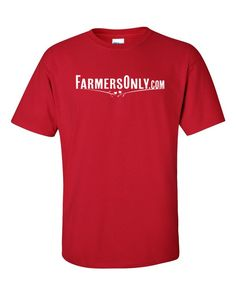 FarmersOnly.com Basic Logo- Men's Tee