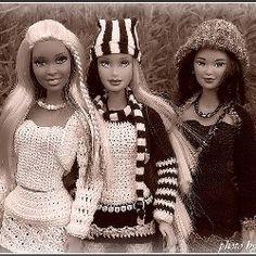 Crochet barbie patterns