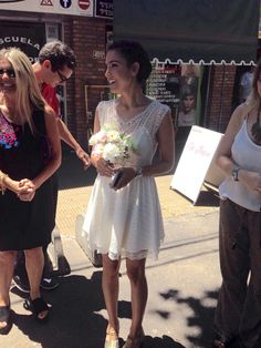 #wedding #dress #flower #bouquet #makeup #hairstyle #bride