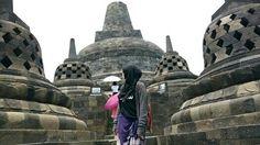 Magelang, Indonesia. Borobudur temple Borobudur Temple, Yogyakarta, Barcelona Cathedral, Taj Mahal, Travelling, Building, Buildings, Construction, Architectural Engineering