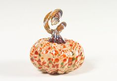 Hand Blown Glass Pumpkin Thanksgiving Decorations by AvolieGlass #home #decor #holiday