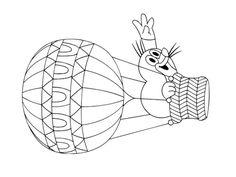 Krteček omalovánky k vytisknutí | i-creative.cz - Kreativní online magazín a omalovánky k vytisknutí Baby Games, Mole, Superman, Snoopy, Mandala, Language, Fictional Characters, Drawing S, Crafting