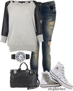 """""""Out and About"""" by stephiebees on Polyvore"""