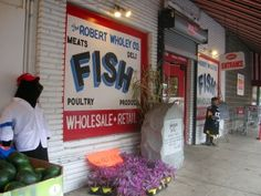 The Wholey Fish Market - A great place to get fish/seafood and so much more!
