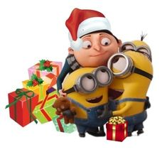 Despicable Me, Cellphone Wallpaper, Bowser, Merry Christmas, Backgrounds, Animation, Funny, Illustration, Cute