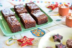 choco hazlenut brownies