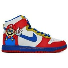 factory price a5606 15b25 Nike Super Mario Dunks Hi Custom Shoes Cheap For Sale. nike hyperdunks 2012  · Nike Dunk High Women