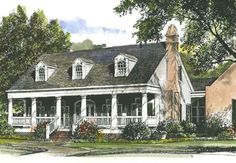 Louisiana Garden Cottage Would this plan work with garage street side instead of next to house?
