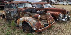 Old Cars Found in Delaware '38 Pontiac, '47 Cadillac
