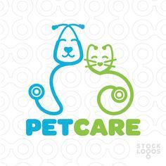 Pet Veterinary Care logo by NancyCarterDesign