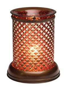 *NEW FALL 2013* Brown Diamond Shade Lampshade Collection, Scentsy http://www.lovingsomescents.com/
