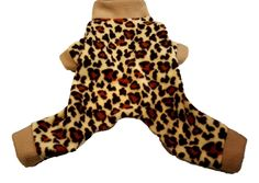 Cheetah Print Fleece Pajamas
