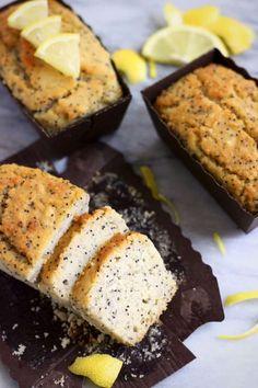 Gluten-Free Vegan Lemon Poppy Seed Cake