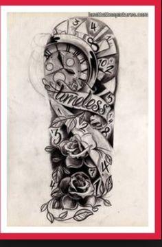 Timeless tattoo sleeve